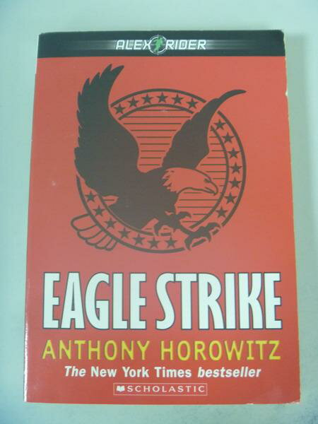 【書寶二手書T7/原文小說_IAU】Eagle Strike_Anthony Horowitz