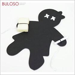 《不囉唆》創意kuso小人黑板 附板擦粉筆盒裝 文具/留言板/黑板(不挑色/款)【A185295】