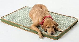 《Lifeapp》寵物緩壓睡墊L (綠格紋) 適用大型犬、長期照護、高齡犬110*70*5cm