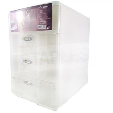 樹德 PC-1104 魔法收納力A4玲瓏盒(4層抽屜)