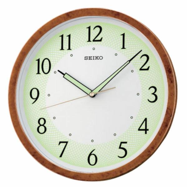 Seiko 精工鐘 (QXA472B) 極簡風格滑動式秒針夜光標準鐘/31.1*3.9cm