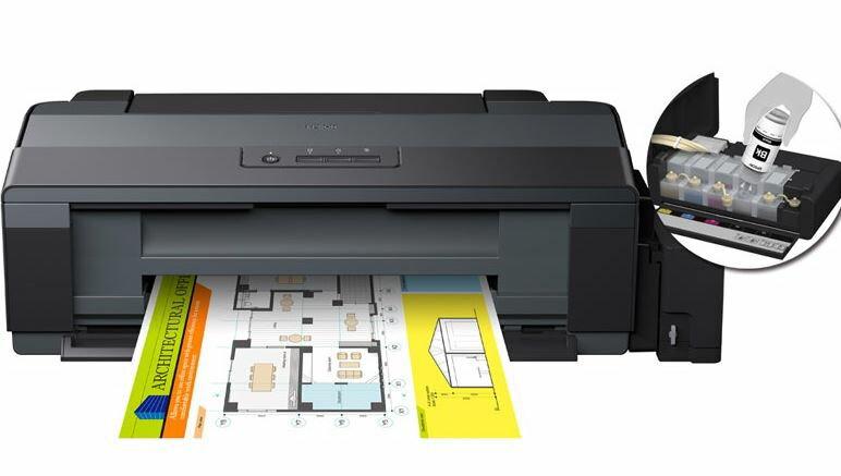 【歐菲斯辦公設備】 Epson A3原廠連續供墨印表機 四色 支援A3+列印 多種紙材列印 L1300,下標請先確認有無庫存並加贈墨水匣