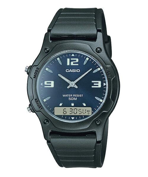 【CASIO】【男錶】【指針/數位】AW-49HE-2A 台灣公司貨 保固一年 附原廠保固卡