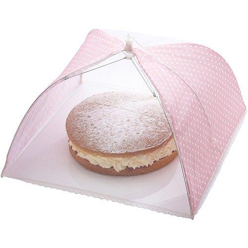 《Sweetly》粉點蕾絲桌罩(41cm)
