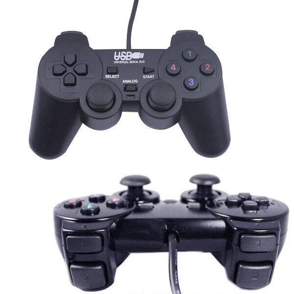 電腦搖桿 PC手把 USB【免驅動】遊戲 電腦遊戲用 雙震動 NBA 免安裝 (78-1877) 1