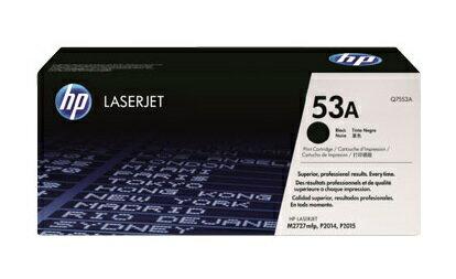 HP Q7553A 原廠黑色碳粉匣 適用: LJ P2015/P2014/M2727mfp