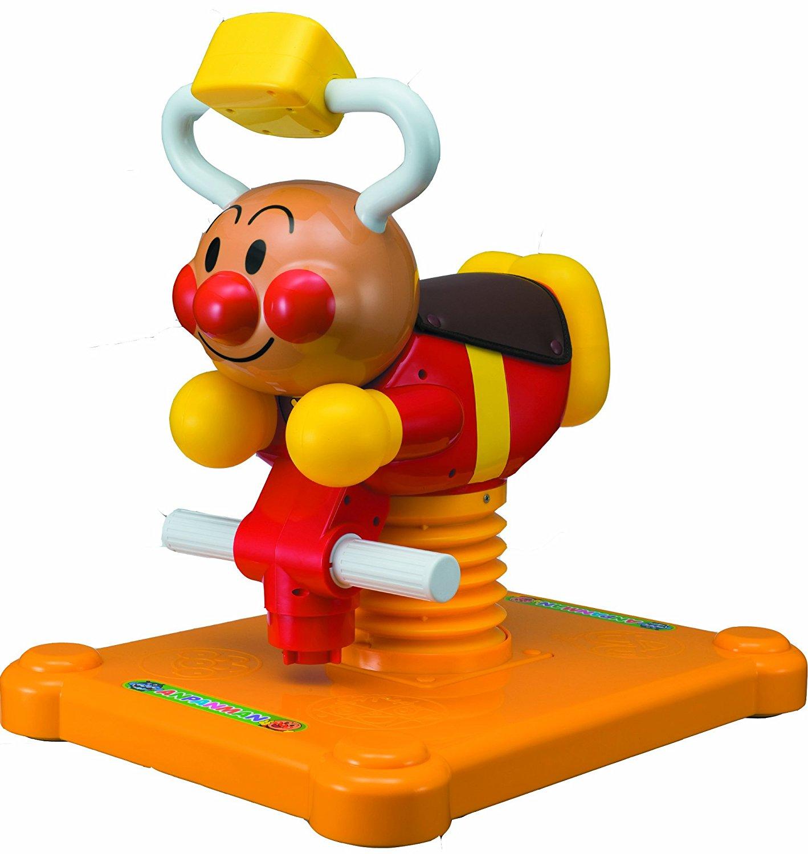 X射線【C306196】麵包超人搖搖馬 ,玩具車/合金車/遙控車/學步車/跳跳馬/玩具木馬/嬰兒搖椅