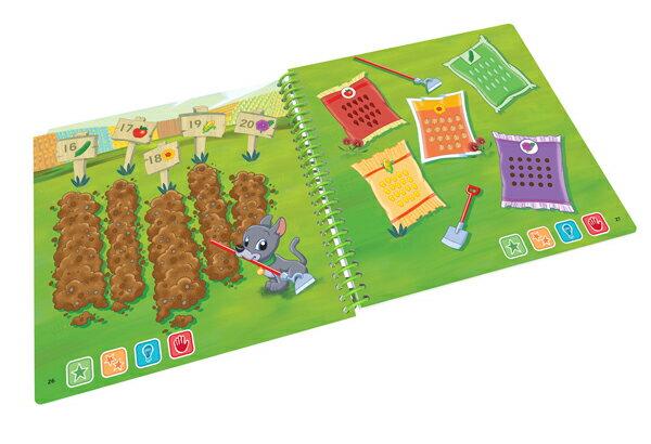 美國 LeapFrog 跳跳蛙 LeapStart Jr. Books幼兒7-數學好好玩 4