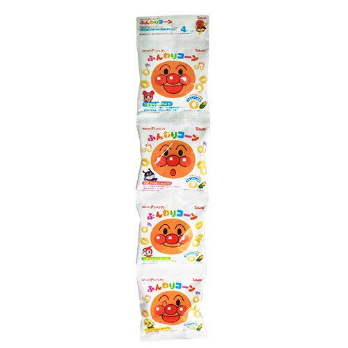 Tohato東鳩 麵包超人4連鹽味玉米脆餅 (28g)★衛立兒生活館★