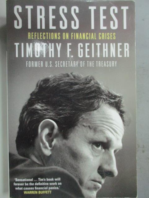 ~書寶 書T6/原文小說_JBY~Stress Test_Timothy F. Geith