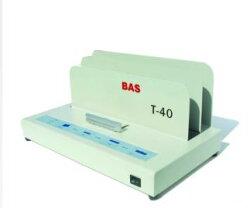 【歐菲斯辦公設備】BAS 霸世牌 桌上型電子式膠裝機 全自動裝訂 書本專用 散熱快 T-40