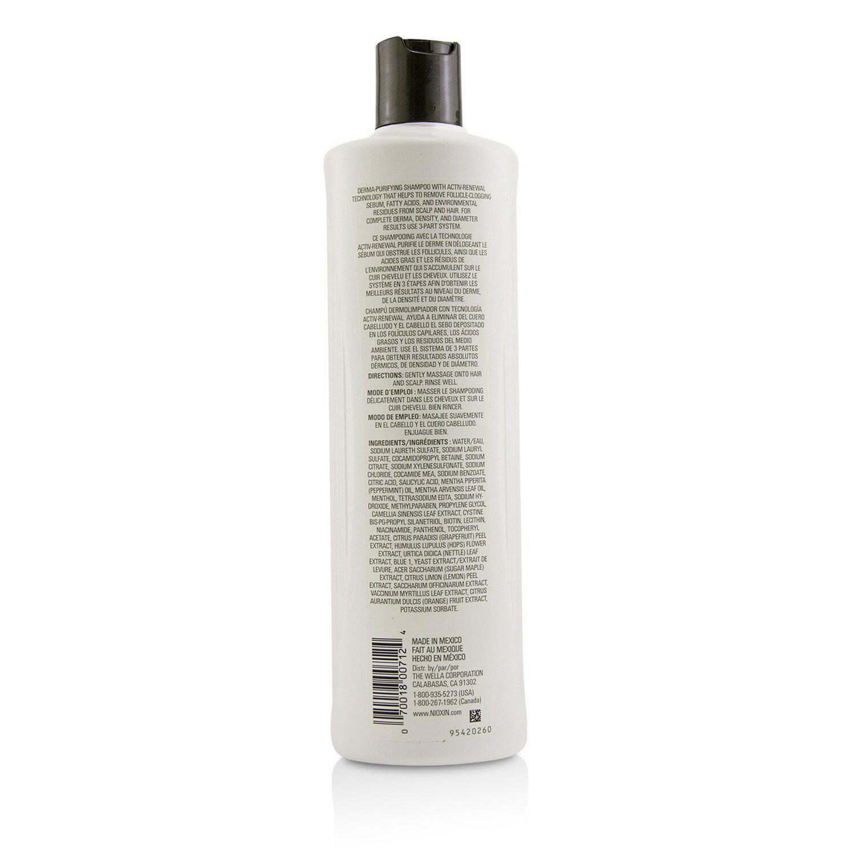 儷康絲 Nioxin - 潔淨系統2號潔淨洗髮露Derma Purifying System 2 Cleanser Shampoo(細軟髮/原生髮)