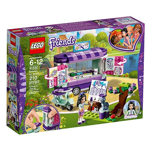 樂高LEGO 41332  Friends 姊妹淘系列 - 艾瑪的畫架 - 限時優惠好康折扣