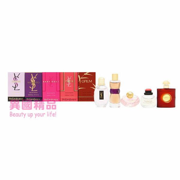 聖羅蘭 YSL Miniature Fragrance Coffret 女用小香五件禮盒組 7.5ml*5【特價】xa7異國精品xa7