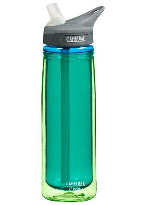 【鄉野情戶外用品店】 Camelbak |美國| 雙層隔溫運動吸管水瓶《青玉》/雙層水壺/CB53541 【容量600ml】