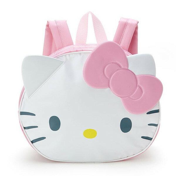 X射線【C699577】Hello Kitty 造型後背包-臉,收納包/文具包/隨身包/手提包/零錢包/交換禮物/禮品