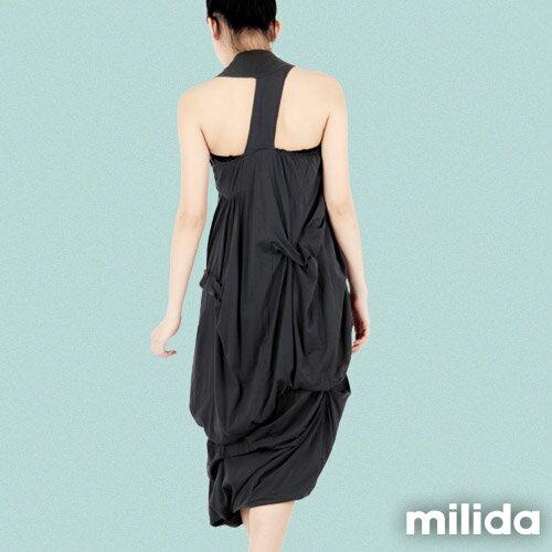 【Milida,全店七折免運】-春夏商品-無袖款-露背小禮服 8