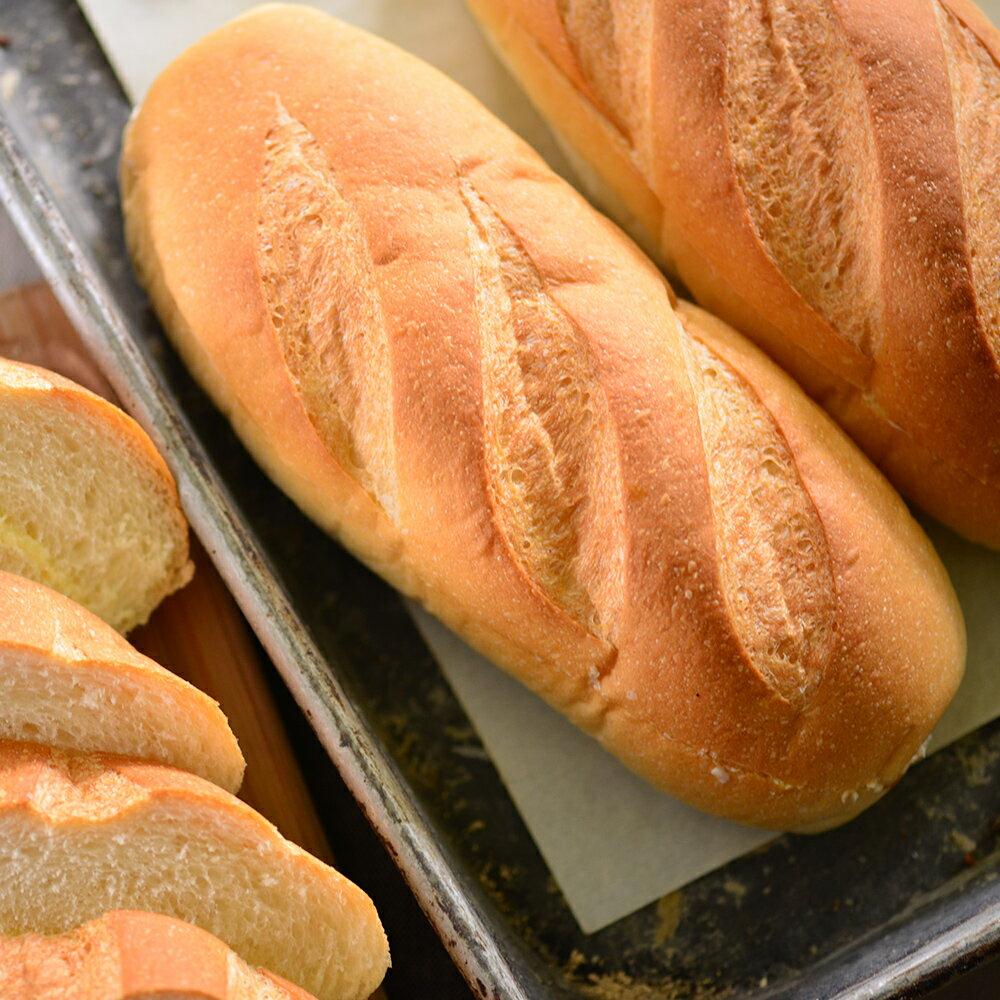 【拿破崙先生×隱藏美食】冰心牛奶維也納軟法麵包 (6入)×奶香十足的發酵奶油再加上顆粒感的台灣砂糖× 2
