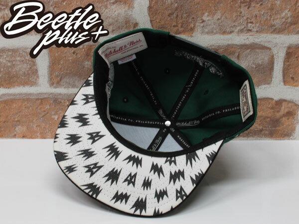 BEETLE PLUS MITCHELL&NESS X BAIT X NBA CELTICS SNAPBACK 波士頓賽爾堤克 黑綠 聯名 後扣棒球帽 2
