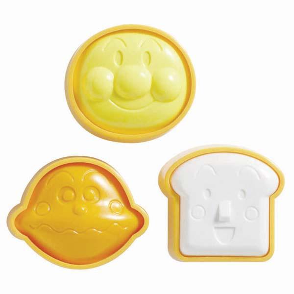 日本直送  Anpanman 麵包超人 頭型 飯糰 壓模 印模 (日本製)