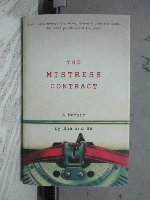 ~書寶 書T3/原文書_NSC~The Mistress Contract