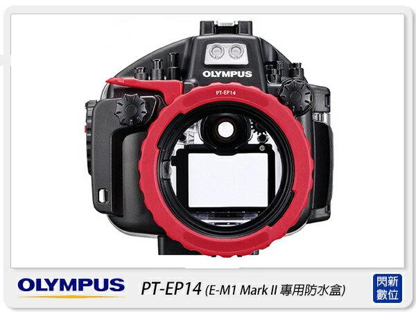 OLYMPUS PT-EP14 潛水盒 防水盒(PTEP14,EM1 Mark II EM1M2 專用,元佑公司貨)