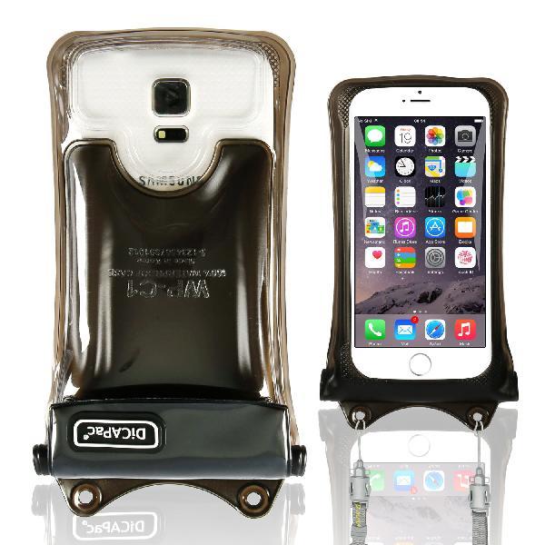 DiCAPac WP-C1(有現貨) 高耐磨手機防水袋(5.1吋以下)-黑色