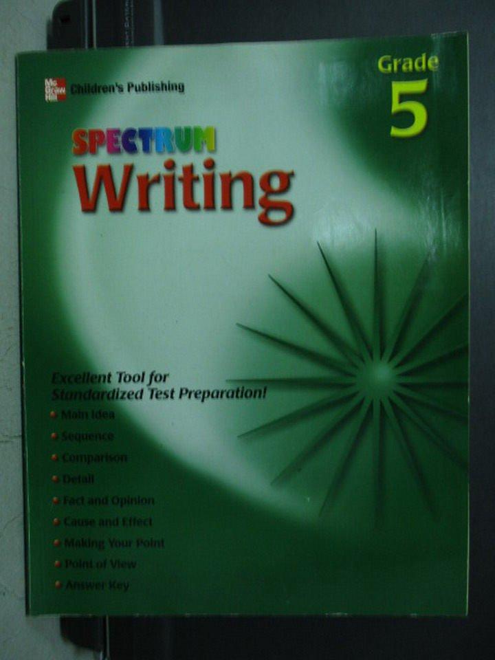 【書寶二手書T2/語言學習_WGV】SPECTRUM Writing