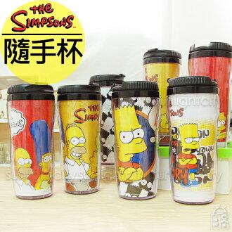 日光城。辛普森隨手杯,曲線隨身杯水瓶水杯隨手瓶隨身瓶保溫瓶保溫杯隔熱杯杯子Simpsons