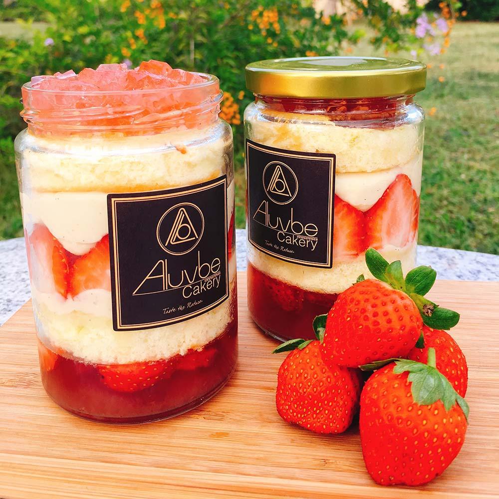 艾樂比 【草莓罐罐】 冬季限定 蛋糕 甜點 草莓 Fraisier