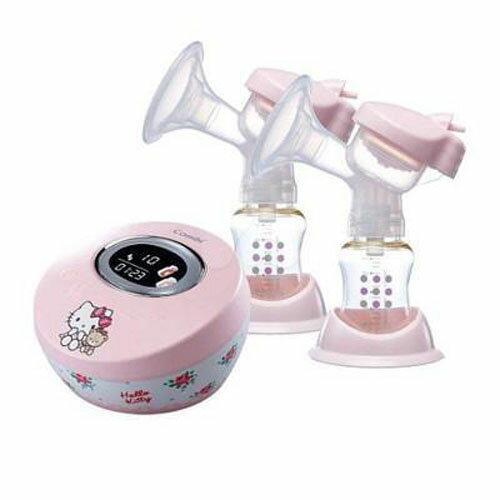 Combi 康貝 Hello Kitty 限量版雙邊電動吸乳器【悅兒園婦幼生活館】 1