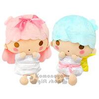 雙子星周邊商品推薦到〔小禮堂〕雙子星 造型絨毛玩偶娃娃《坐姿.摸臉.32cm》