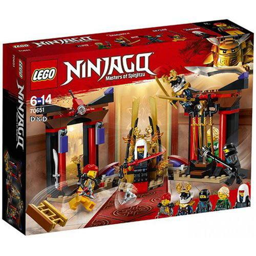 樂高LEGO 70651 NINJAGO 旋風忍者系列 - 王座室決戰 - 限時優惠好康折扣