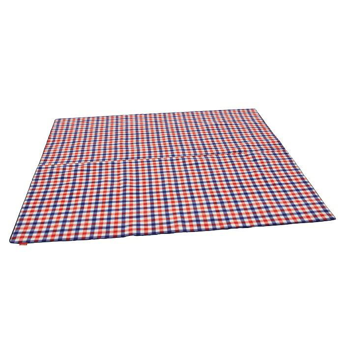 【露營趣】中和安坑 Coleman CM-26532 紅格紋刷毛地毯 295x295cm 防潮墊 野餐墊 露營墊