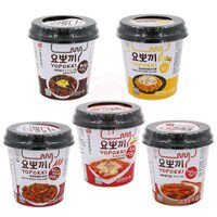 韓國泡麵推薦到韓國 Yopokki 辣炒年糕即食杯 (甜辣味/起司味/辛辣味/洋蔥奶油/炸醬味) 【庫奇小舖】就在庫奇小舖推薦韓國泡麵