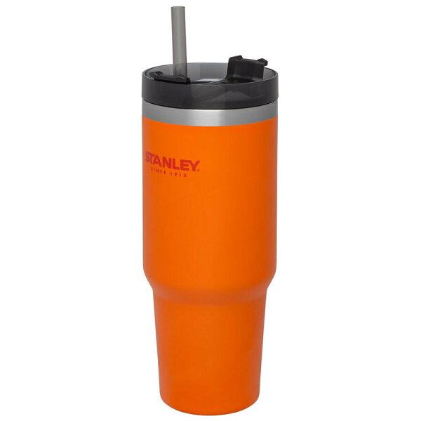 【【蘋果戶外】】Stanley1002663桔880ml美國冒險系列真空吸管隨手杯酷冰杯保溫杯保冰保冷10-02663