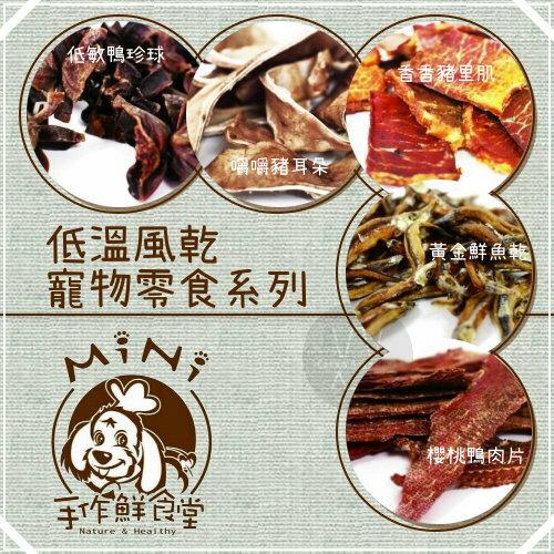 MINI手作鮮食堂[低溫風乾零食系列,5種口味,100g](2包優惠組)