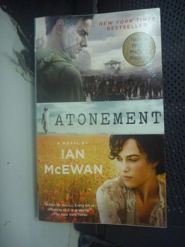 【書寶二手書T3/原文小說_LGL】Atonement_McEwan, Ian