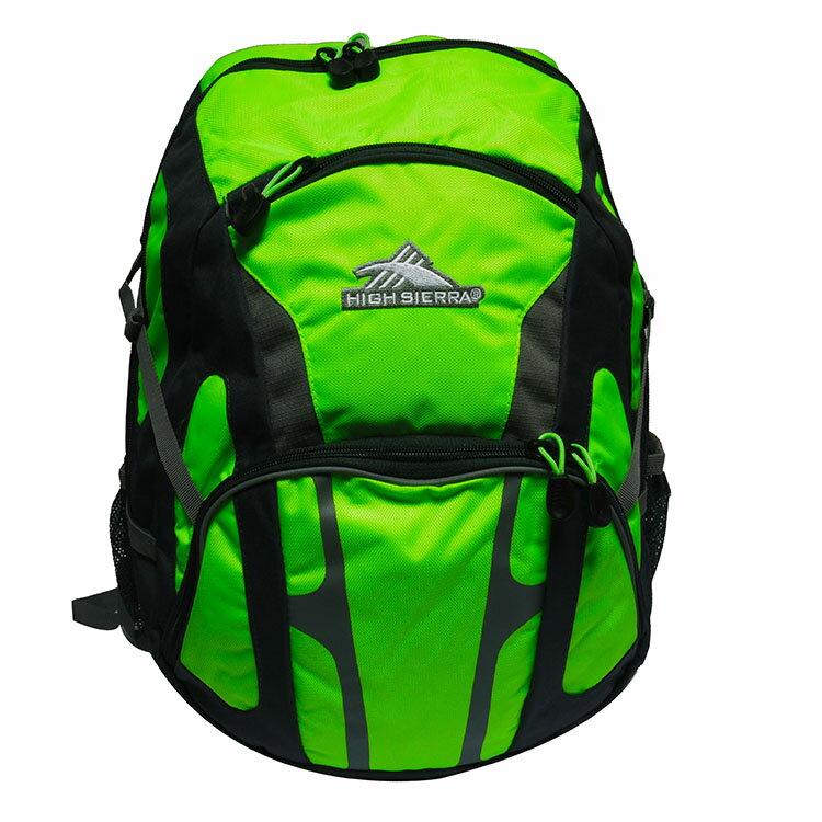 HIGH SIERRA美國戶外運動用品Composite Backpack 大容量後背包新秀麗Samsonite副牌-螢光黃限定版-H04-ZA034 【禾雅】