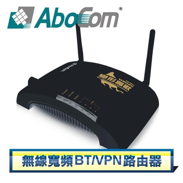 AboCom WB02N 無線寬頻BT / VPN 路由器