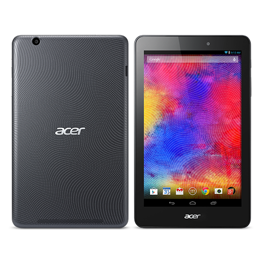 "ACER B1-810-16M6 黑 8吋 平板電腦 ANDROID / ATMZ3735G / 8"" / GPS/1L/R/ BGN+ BT SDIO BCM / NA"