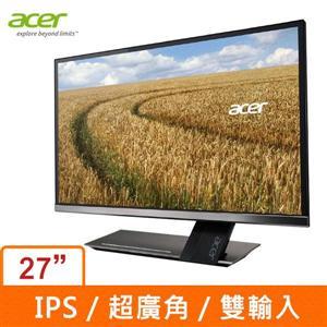 ACER S276HL 27吋寬LED液晶顯示器(黑)