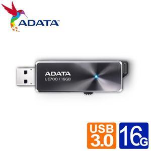 威剛 UE700 16G USB3.0行動碟 (灰)