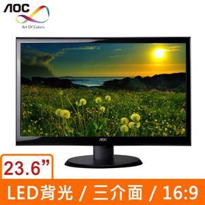 AOCE2450Swh23.6吋(16:9)LED液晶顯示器