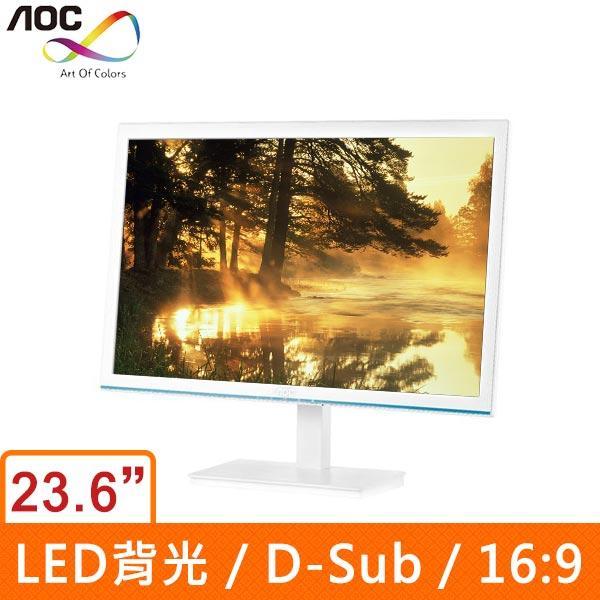 AOC E2476VW6/WB 23.6吋(16:9) LED液晶顯示器