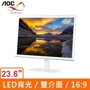AOC E2476VWM6/WB 23.6吋(16:9) LED液晶顯示器