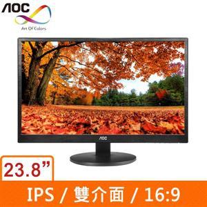 AOC I2470SWD 23.8吋寬 IPS液晶顯示器