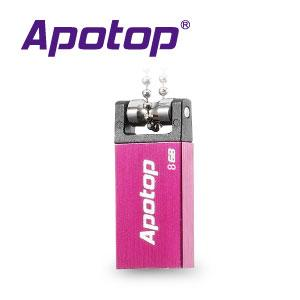 Apotop Top Mini Square 8GB 隨身碟-(粉 /藍 兩色)