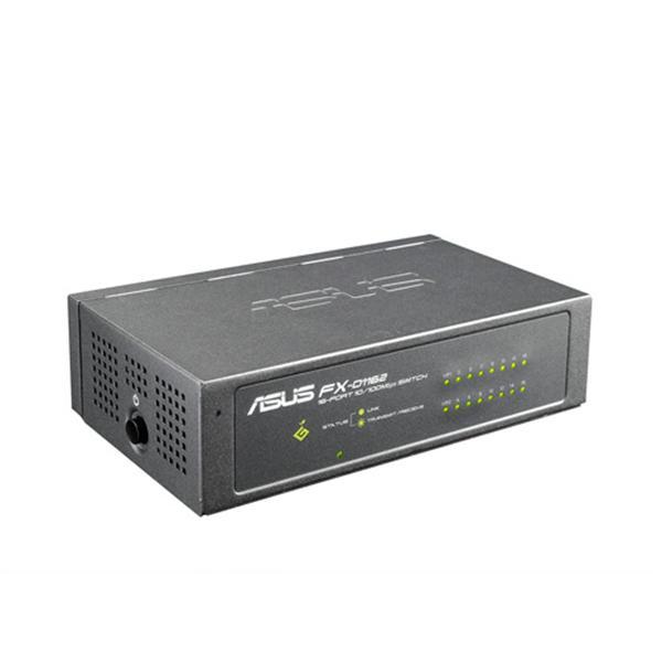 ASUS FX-D1162 V2 16 埠及VIP埠10/100Mbps交換器