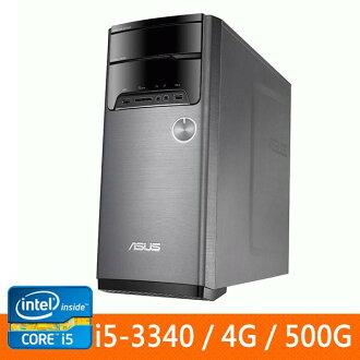 ASUS M32AA1-334570A(i5-3340)桌上型電腦 (NO OS) I5-3340/DDRIII 1600 4G SO-DIMM //SATA 500G/DVD RW